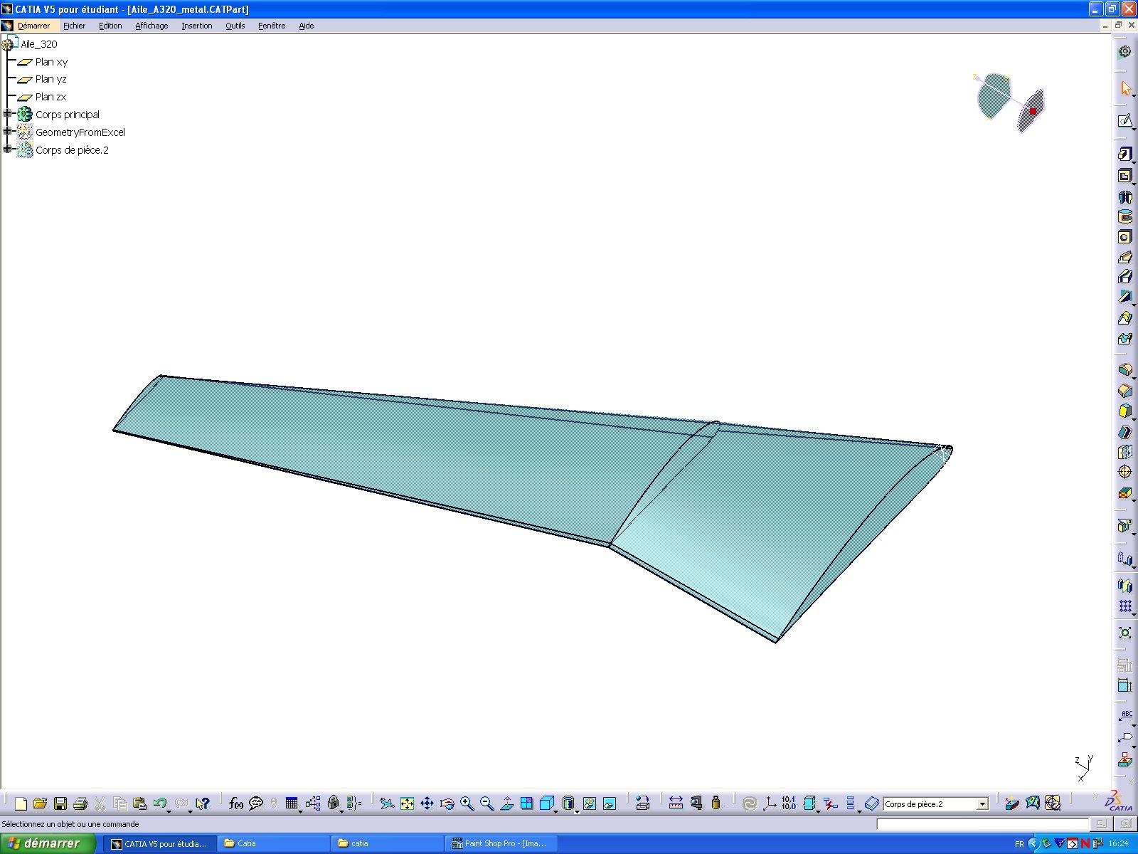 Dimensionnement d'une aile d'Airbus A320 - page 3